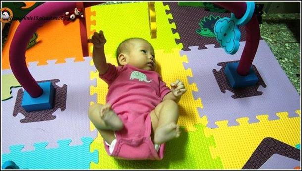 eva幼儿健身地垫9pcs-附镜子立体小动物