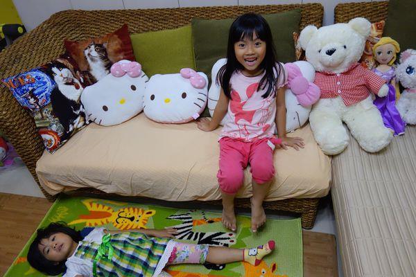 斑比诺动物地毯~可爱的动物图案,让小朋友犹如置身童趣乐园