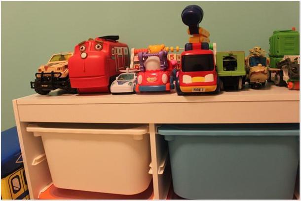 玩具放整齐图片