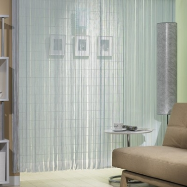 Sharer 分享 商品專區 金格拉斯線簾 90x180cm藍白